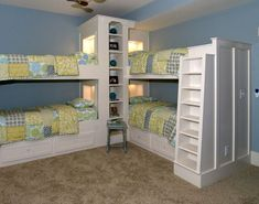 Bunks with built in ladders (1) From: Southern Studio, please visit