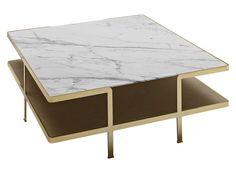 Table basse de salon ODILON Collection Odilon by Nube Italia | design Marco Corti