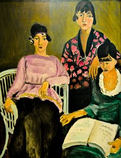 Henri Matisse - The Three Sisters, 1917