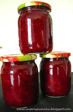 Preserves, Pickles, Salsa, Decoupage, Food And Drink, Jar, Treats, Canning, Vegetables