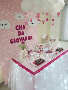 Baby Deco, Alice, Baby Shawer, Baby Shower Princess, Cake Table, Party Themes, Birthday Cake, Crafts, Baby Shower Signs
