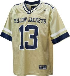 Georgia Tech Yellow Jackets Nike Kids Football Jersey