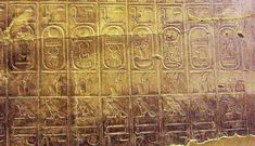(3rd May 2015) THE ROYALS: Within one of the most important sites in Abydos - the Temple of Seti -  there was inscribed a list of seventy-six Egyptian kings. This list has served as an important tool in piecing together ancient Egyptian history, and in identifying the rulers from that time.
