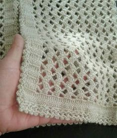 Good morning aydın get your friends enlightened friends crochet easy vest model . Baby Knitting Patterns, Filet Crochet, Easy Crochet, Crochet Crocodile Stitch, Crochet Shawls And Wraps, Crochet Woman, Masters, How To Knit, Crochet Summer Hats