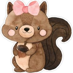 Cute Wallpaper Backgrounds, Cute Wallpapers, Animal Drawings, Cute Drawings, Baby Animals, Cute Animals, Wreath Drawing, Baby Album, Woodland Animals
