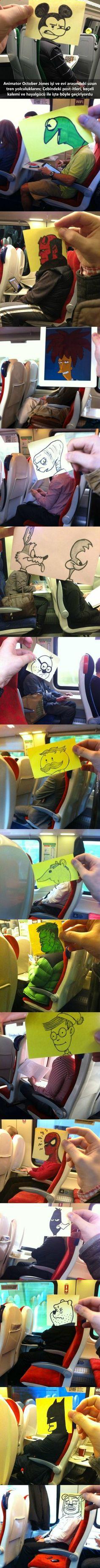 Sıkıcı Tren Yolculukları Nasıl Geçer?