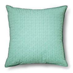 Oversized Texture Throw Pillow - Aqua Blue – Threshold™ : Target