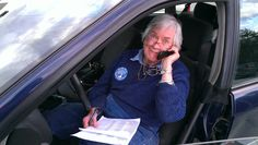 Making the phone calls to get the last minute YES votes on Election Day in the Town of Durham New Hampshire. March 13, 2012