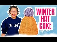 How To Make A Classic WINTER HAT Out Of VANILLA & CHOCOLATE Cake | Yolanda Gampp | How To Cake It - YouTube