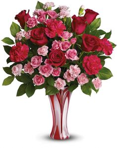 Red and pink roses show her love in your eyes; but swirls in a vase means her eyes mezmorize Modern Flower Arrangements, Vase Arrangements, Cool Ideas, Vase With Branches, Art Nouveau, Vase Design, Paper Vase, Red And Pink Roses, Valentines Flowers