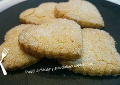 Galletas de nata Fondant Cakes, Pretzel, Truffles, Macarons, Baking Recipes, Bakery, Muffin, Favorite Recipes, Sweets