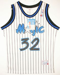 NEUW Champion NBA Basketball Orlando Magic  32 Shaquille O Neal Trikot  Jersey Size 1b505fa04