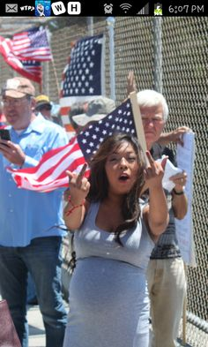 Santa Rosa, CA July 19 Aggressive illegal immigrant invasion supporters showed up at a protest against illegal immigration. pic 1