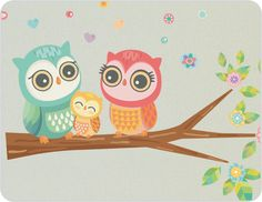 cute owl decoration for baby's room!