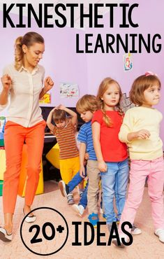 Kinesthetic Learning Ideas : Over 20 Kinesthetic Learning Activities. All of these activities come from real classroom professionals! A fun list of over 20 ways to add physical activity to the classroom! Learning Styles Activities, Movement Activities, Classroom Activities, Physical Activities, Therapy Activities, Preschool Kindergarten, Preschool Music, Music Activities, Stem Activities