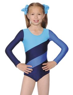 HOP Three Tone Gymnastics Leotard