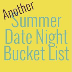Fun date ideas to help you enjoy summer to the fullest with your spouse. Summer lovin' at its finest! #datenight #relationship #summer