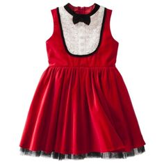db0df3d18ec20 Holiday dresses for girls: red Harajuku Mini dress Tuxedo Dress, Toddler  Dress, Toddler