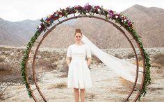 Как выбрать свадебную арку: 8 трендов сезона 2014, круглая арка