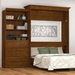 Bestar – Studio Queen Wall Bed 2-pc. Set – Tuscany Brown...order while on sale, cheaper for me that making...Yeah!