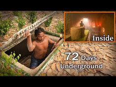 My 72 Days In Jungle And Building Hidden House - Full Video Mr.Heang Update: I am from United States of America (USA). Earthship Home, Hidden House, New Urbanism, Primitive Survival, Underground Homes, Floating House, Gadgets, Survival Quotes, One Life