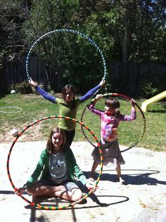 DIY hula hoops