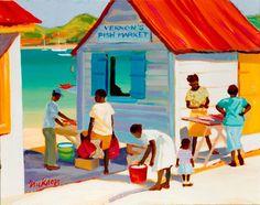 """Shari Erickson - """"Vernon's Market"""""""