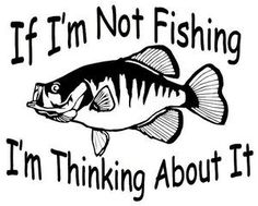 Crappie Decal MD If Im Not Fishing Im Thinking About - Monogram Fishing Shirt - . - Crappie Decal MD If Im Not Fishing Im Thinking About – Monogram Fishing Shirt – Ideas of Monogr - Fishing Signs, Fishing Quotes, Fishing Games, Fishing Crafts, Fishing Vest, Fishing Chair, Crappie Fishing, Carp Fishing, Fishing Pliers