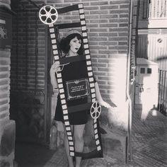 Disfraz fotograma de cine mudo