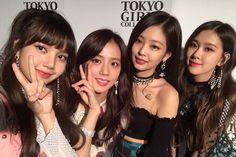 [IG] 180401 blackpinkofficial: thankyou for having us 🖤💕 Kim Jennie, Kpop Girl Groups, Korean Girl Groups, Kpop Girls, Yg Entertainment, K Pop, Square Two, Blackpink Wallpaper, Oppa Gangnam Style