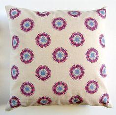 Cushion Cover - Thistles. $37