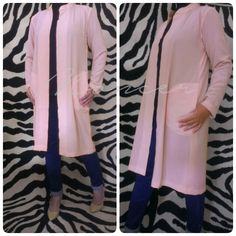 Long outer IDR 215.000 Fabric/Bahan : Ceruti Georgete