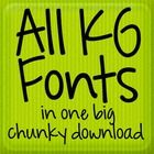 This download gives you the right to use these fonts for personal use only. The download contains all Kimberly Geswein Fonts through the last updat...
