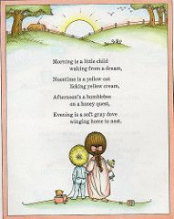 this was my favorite book as a child.i recently purchased the same book i used to compulsively check out from the library, some twentyfive years hence, for my children. morning is a little child Joan Walsh Anglund. Nursery Rhymes Poems, Rhymes Songs, Joan Walsh, Poetry For Kids, Pomes, Kids Poems, Vintage Children's Books, Children's Literature, Learn English