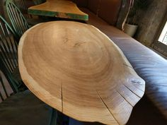 solid wood round dining table- woodetails
