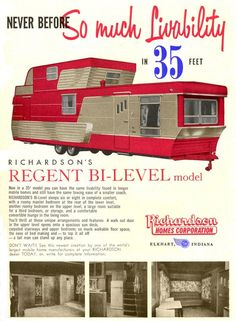 Regent's Bi-Level Mobile Home-Forget that tiny house nonsense! I would be perfectly happy in this sweet bi-level. For the person with sophisticated taste!