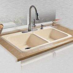 White Ceco tile in 4 hole Sale Price $125   CECO SINKS   Pinterest ...