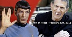 """Leonard Nimoy, the sonorous, gaunt-faced actor who won a worshipful global following as Mr. Spock, the resolutely logical human-alien first officer of the Starship Enterprise in the television and movie juggernaut """"Star Trek,"""" died on Friday morning at his home in the Bel Air section of Los Angeles. He was 83."""