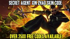 Just got my free Secret Agent Xin skin code :D