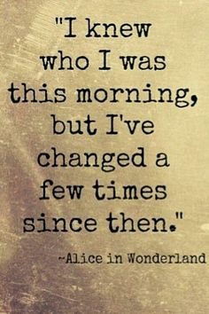 There are inspirational quotes that can be life-changing. But for those that really shed light on life's most difficult times, why not turn to the best Alice in Wonderland quotes? Lewis Carroll had much more in mind than you think. Lyric Quotes, Book Quotes, Me Quotes, Funny Quotes, Moving Quotes, Great Quotes, Quotes To Live By, Inspirational Quotes, Motivational