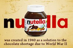 12 Facts About Nutella