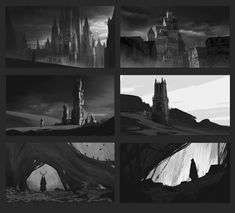 ArtStation - Fantasy Sketches, Hakob Minasian
