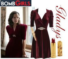 """Bomb Girls - Gladys"" by emmaaime on Polyvore"