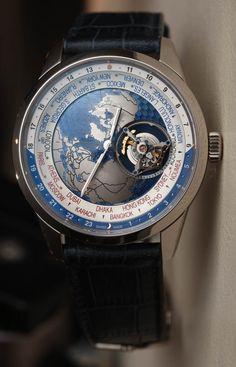 ec0c91aaed0 Jaeger-LeCoultre Geophysic Universal Time Tourbillon Watch Hands-On  Hands-On Tourbillon Watch