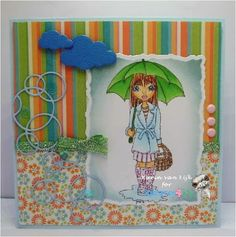 KarinsArtScrap: Raining or Sunshine