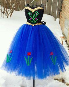 Princess Anna Inspired Tutu Dress Frozen by FrostingShop Frozen Birthday Party, Frozen Party, Tutu Costumes, Halloween Costumes, Ana Costume, Costume Ideas, Robes Tutu, Tutu Dresses, Princess Tutu