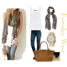 Everyday Wear, created by repeatpossessions on Polyvore