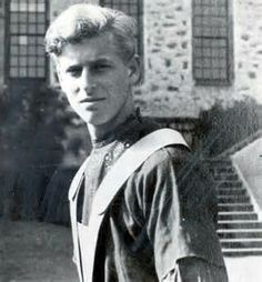 Young Prince Philip.  My I can see the resemblance to Prince Charles in his younger years.