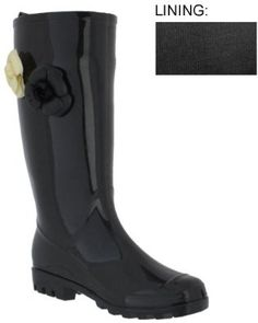 Capelli New York Shiny Solid With Jelly Flower Trims Ladies Basic Body Jelly Rain Boot Nude 10 - Price: $24.99 [ http://shoes-to-go.osx128.com/capelli-new-york-shiny-solid-with-jelly-flower-trims-ladies-basic-body-jelly-rain-boot-nude-10/ ]