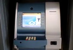 Fake ATMs, spotted in Brazil. Posted by Marcos Andrade, a policeman in Sao Paulo, Brazil, this is an elaborate scam ATM machine. It looks just like any other but its purpose is to steam your information and password. Atm Card, How To Tie Ribbon, Cash Machine, Lol, Just Giving, Best Funny Pictures, Cool Designs, Believe, Cool Stuff